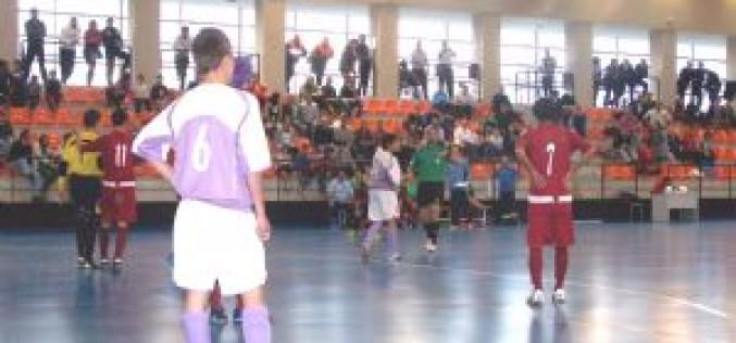 Alhendín acoge el Campeonato de Andalucía de Fútbol Sala en categoría cadete