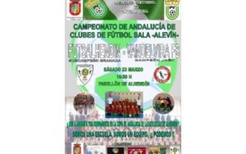 El fútbol sala alhendinense se exhibirá por Andalucía