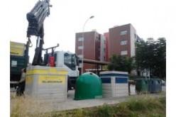 Medio Ambiente instala nuevos contenedores amarillos