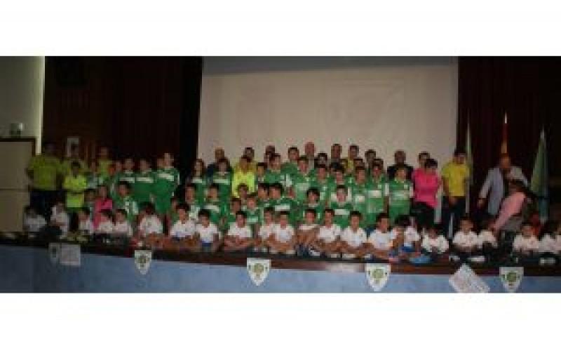 La Escuela Municipal de Fútbol Sala y el Club Deportivo Futsalhendín inauguran la temporada 2012-2013