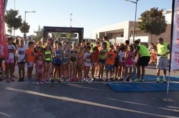 La XIII Carrera Urbana Villa de Alhendín ofrece atletismo para todas las edades en plenas fiestas patronales