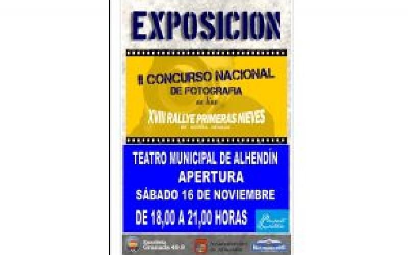 El Teatro alberga una exposición fotográfica del XIX Rallye Primeras Nieves de Sierra Nevada