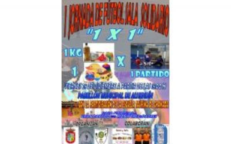 La Escuela Municipal de Fútbol Sala organiza un partido solidario