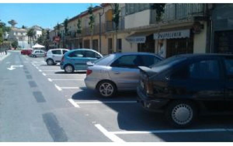 Las obras de reestructuración del tráfico en el centro habilitarán 32 nuevas plazas de aparcamiento