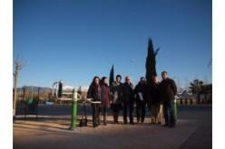 El Ayuntamiento de Alhendín instala un parque saludable en el barrio Novosur