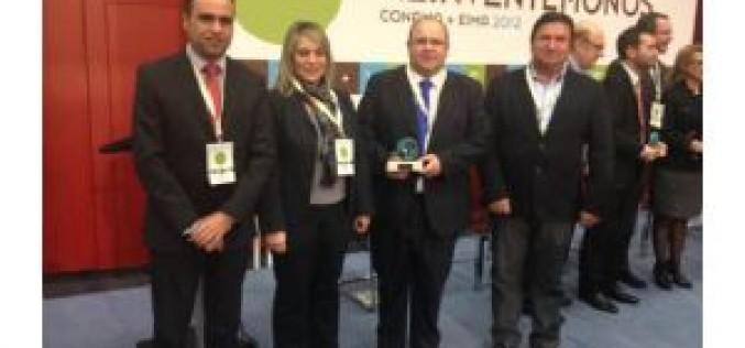 El alcalde recibe en Madrid el premio Conama por el proyecto