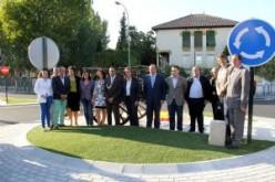 Continúan las obras de la nueva rotonda de la avenida de Andalucía