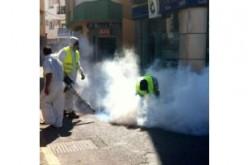 Sanidad desinfecta el alcantarillado para evitar riesgos propios del verano