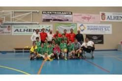 Plata para el equipo infantil de Fútbol Sala en la Copa de Andalucía