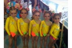 La Escuela Municipal de Gimnasia Rítmica se hace con dos oros en un fin de semana