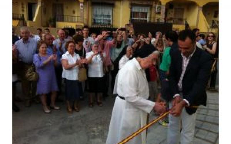 Inaugurado el parque infantil Hermana Lucrecia Ruiz