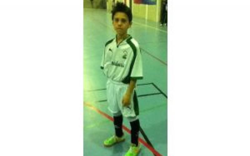Un alhendinense en la selección andaluza alevín de fútbol sala