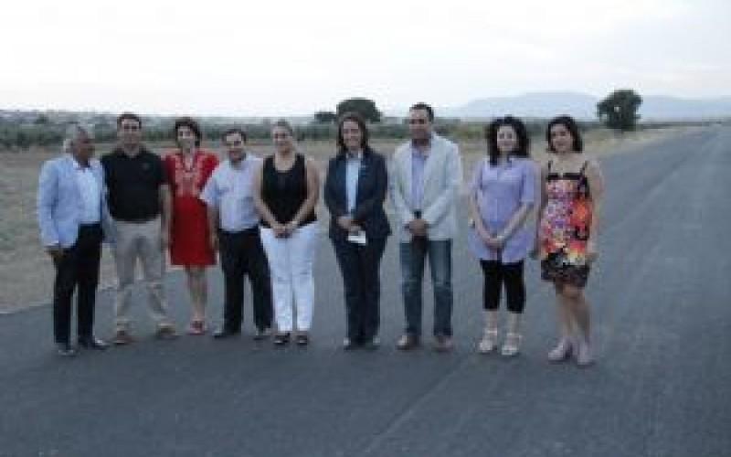 La nueva circunvalación con Las Gabias aliviará el tráfico en el casco urbano de Alhendín