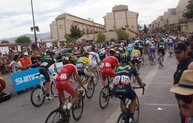 Salida 7ª etapa Vuelta Ciclista a España 2014