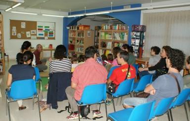 Día Internacional de las Bibliotecas con Matías Fernández