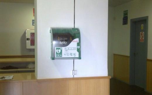 El Pabellón Municipal de Deportes dispone de desfibrilador