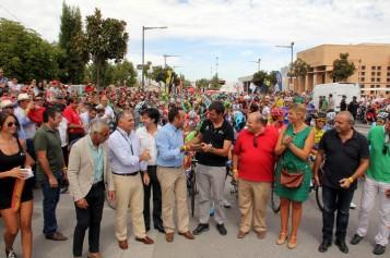 Alhendín se vuelca con la Vuelta