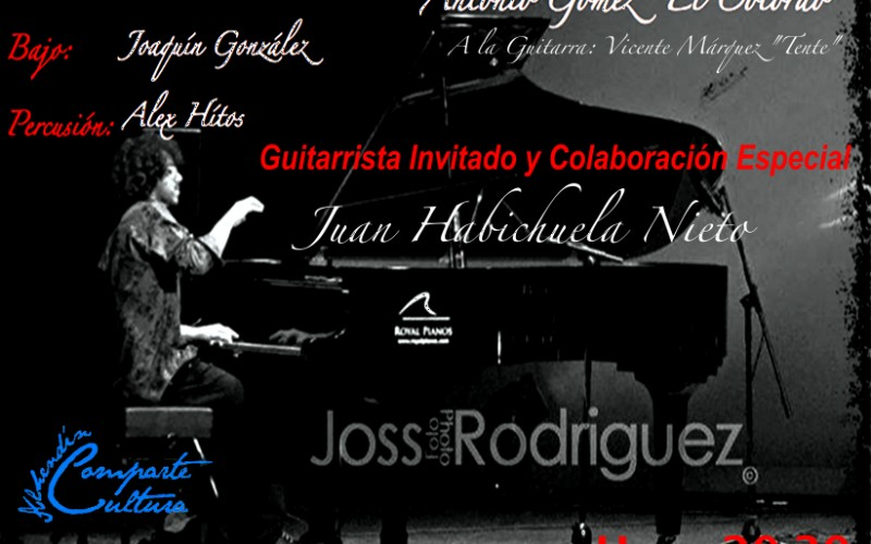 El pianista Alberto Raya trae a Alhendín su proyecto Caminos Flamencos