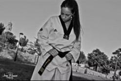La alhendinense Nuria Serra, campeona de España de Taekwondo