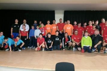 Celebrada la segunda concentración del II Torneo Provincial de Tenis de Mesa