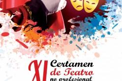 Conoce la programación del XI Certamen de Teatro no profesional