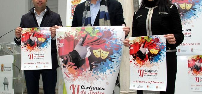 Compañías de Granada y Jaén participan en el XI Certamen de Teatro no profesional