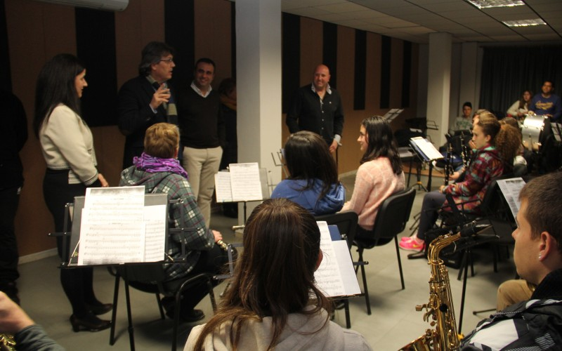 Inaugurado el nuevo Centro de Iniciativas Musicales