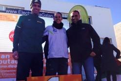 Francisco Javier Parejo y Paloma Zambrano, líderes en la primera prueba del Gran Premio de Fondo Diputación