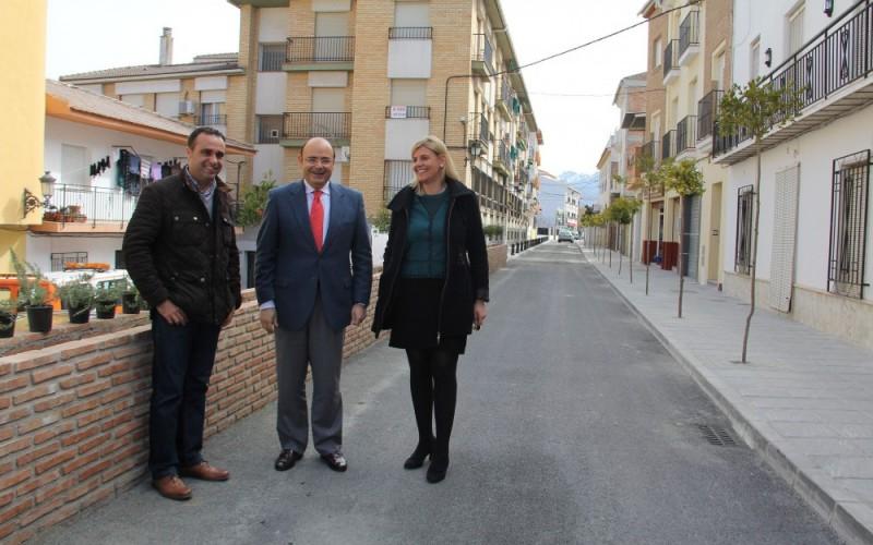 Remodelada Vereda de la Acequia con los proyectos financieramente sostenibles de Diputación