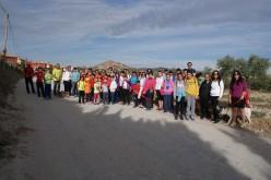La 6ª Ruta familiar, a Montevive y Casa 'Colorá', revive la fiesta de San Marcos