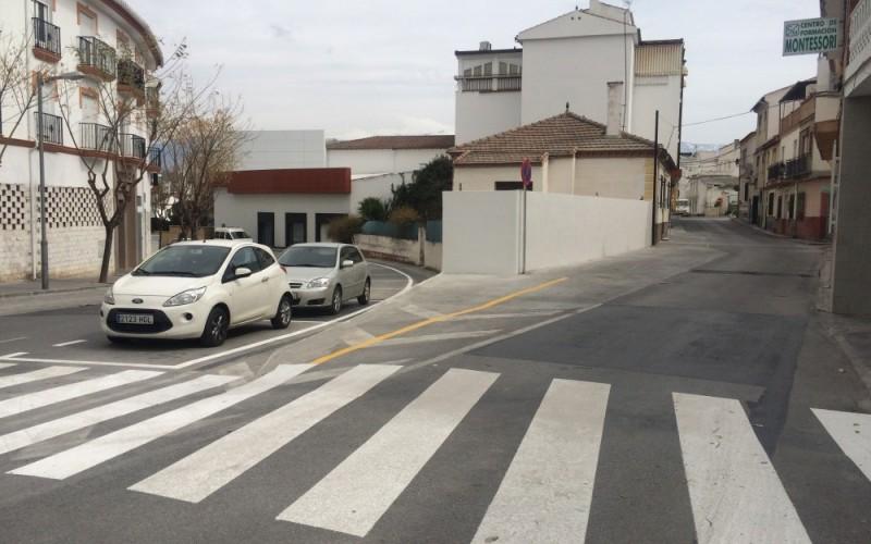Habilitada una decena de nuevos aparcamientos en Calle Aragón
