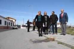 La Diputación acomete obras para la reforma del camino de Gabia