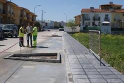 Finalizan las obras en Camino Viejo de Granada