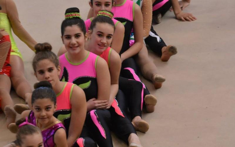 Las gimnastas de Alhendín arrasan en los últimos Trofeos celebrados en la provincia