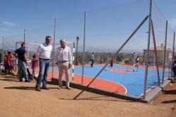 Alhendín estrena las pistas deportivas de 'La Masía' con un torneo vecinal de fútbol y baloncesto