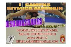Alhendín estrena este verano un Campus de Gimnasia Rítmica