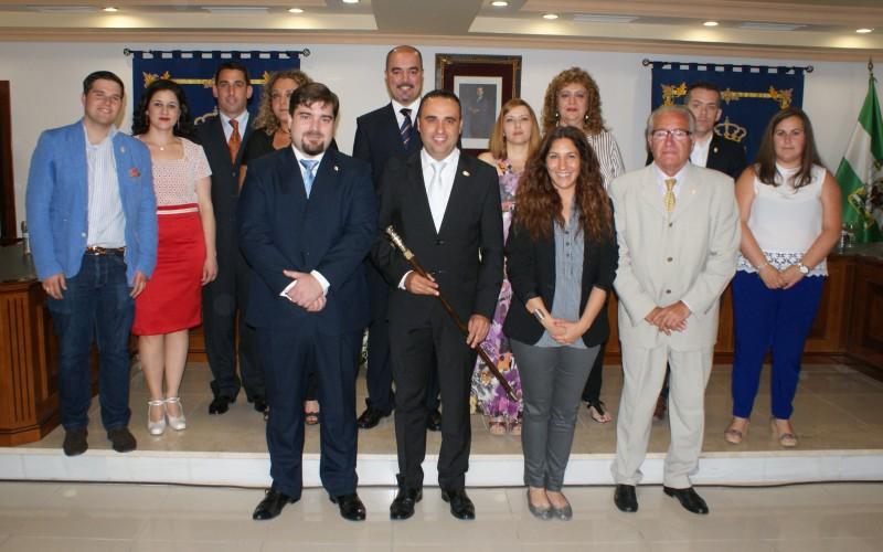 Constituida la nueva Corporación Municipal con Francisco Rodríguez como alcalde