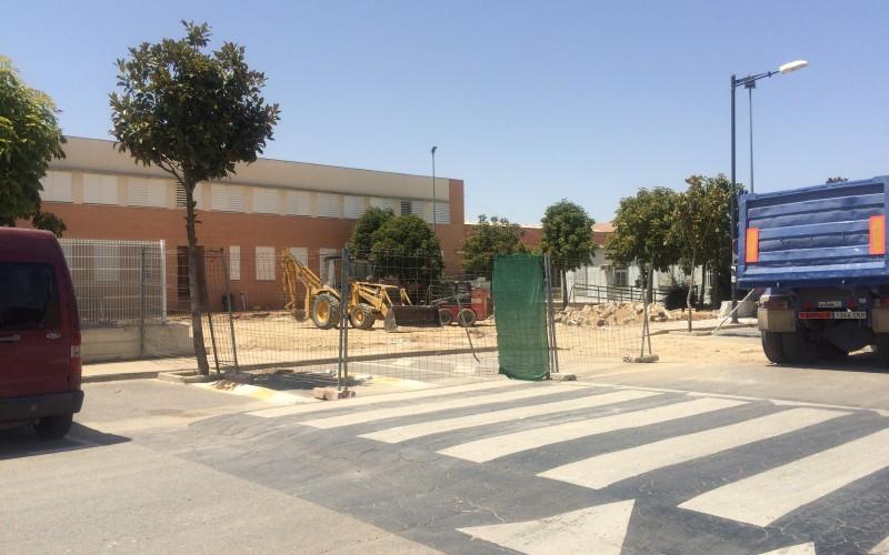 Comienzan las obras de ampliación del Instituto