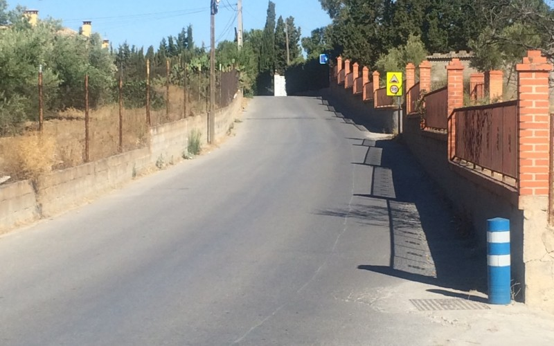 Aprobada en pleno por unanimidad la expropiación de un terreno para ensanchar el Camino del Secanillo en su última fase