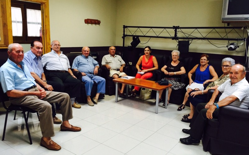 Ayuntamiento y Junta Directiva de la Tercera Edad se reúnen