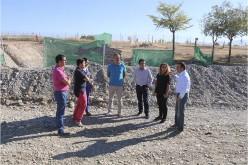 Comienzan las obras de la pasarela que permitirá atravesar el río Dílar entre Camino Viejo de Granada y la Base Aérea de Armilla