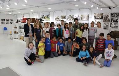 Visita de escolares al Museo y la Biblioteca