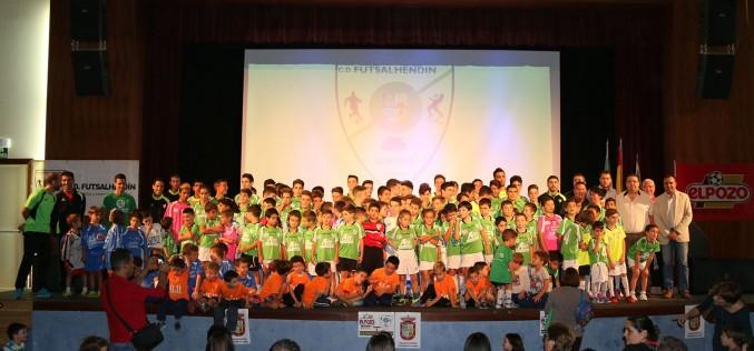 El C.D. Futsalhendín inicia la temporada con 200 jugadores