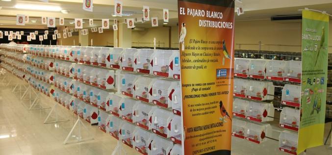 Más de 2.000 pájaros participan en el II Concurso Ornitológico que acoge Alhendín