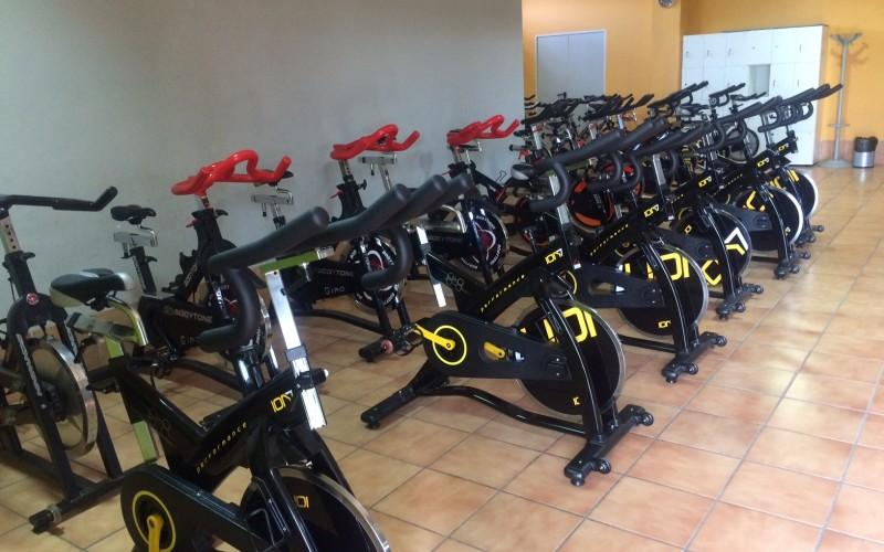 La sala de spinning cuenta con diez nuevas bicicletas