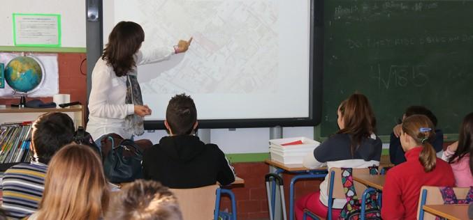 Alumnos de 6º curso proponen ideas para dar uso a un solar municipal