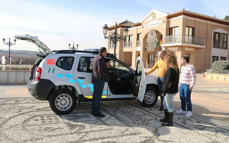 Alhendín adquiere un nuevo coche de Policía Local