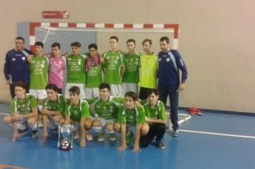 La Galería Futsalhendín, campeón de la Segunda Provincial Andaluza Cadete