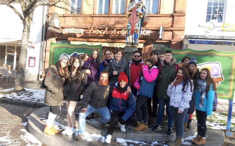 Los alumnos del IES cuentan su experiencia en Alemania