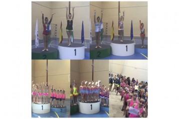 El Club Alhendín de Gimnasia Rítmica, en el Torneo Diputación celebrado en Salobreña